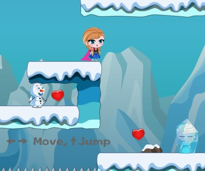 Frozen Anna Save Elsa 2 Game