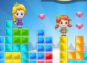 Elsa Anna Rainbow Island Adventure Game
