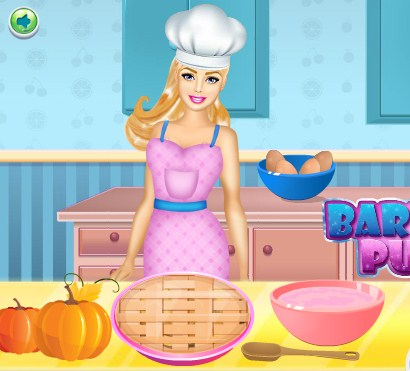 Barbie Perfect Pumkin Pie Game