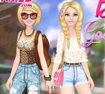 Barbie Good or Bad Dress Up Game