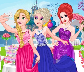 Princesses Bridesmaids Rush Game