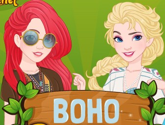 Boho Princesses Game