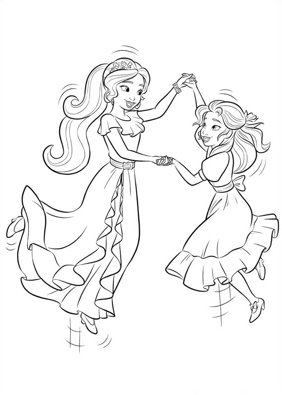 Elena-And-Isabel-Dancing Game