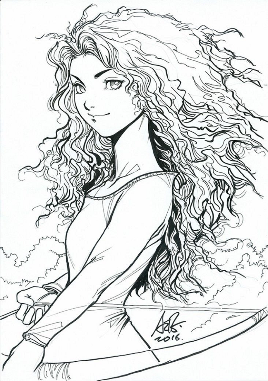 Merida-Fan-Art Game