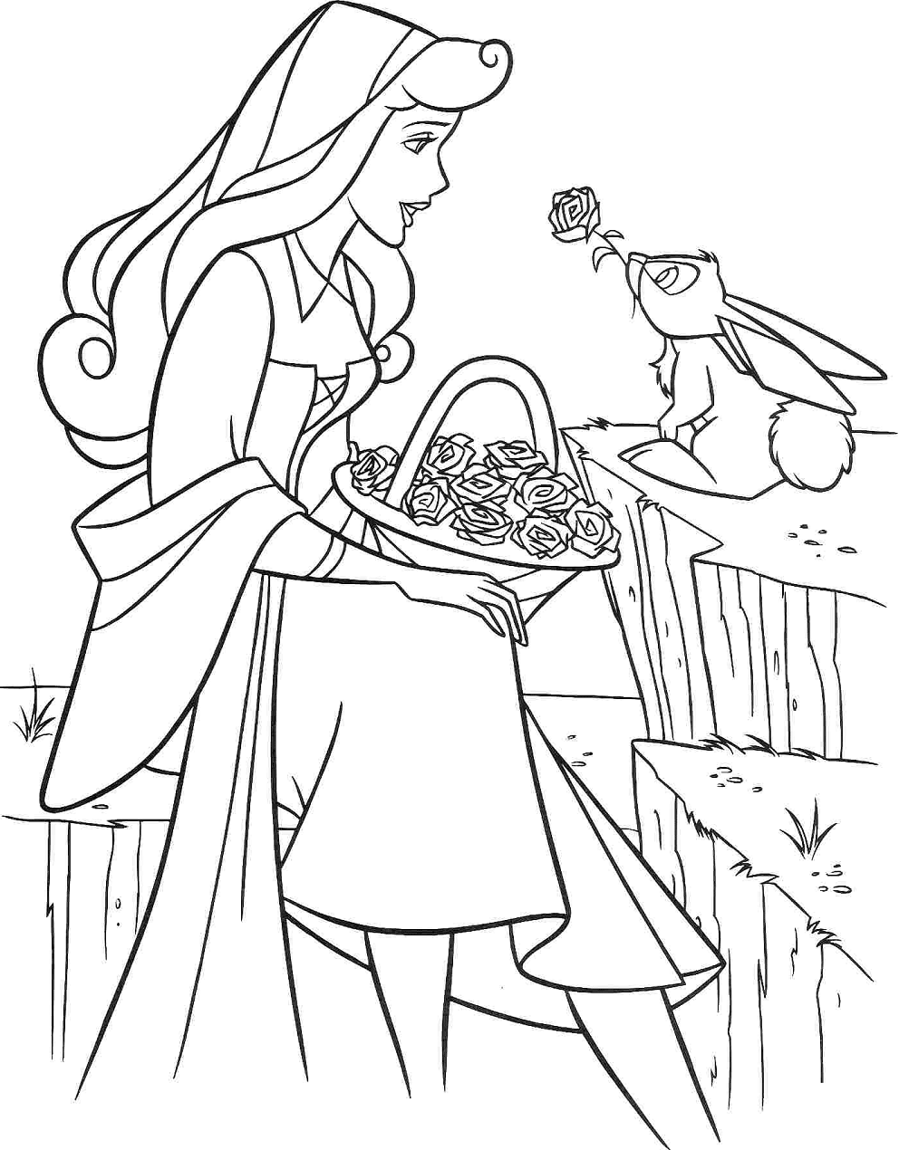 Princess-Aurora-And-Rabbit Game