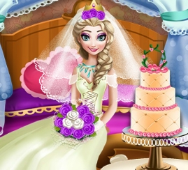 Elsa Wedding Honey Room Game