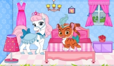 Princess Pets Doll House Decor Game