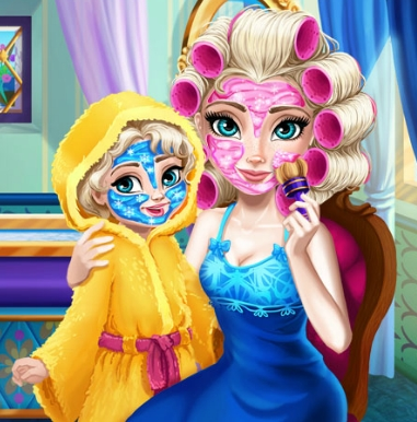 Elsa Mommy Real Makeover Game