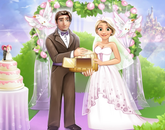 Rapunzel And Flynn Wedding Night Game