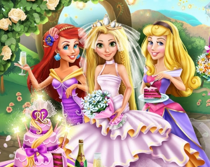 Rapunzel Wedding Party Game