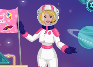 Barbie In Space Adventure Game