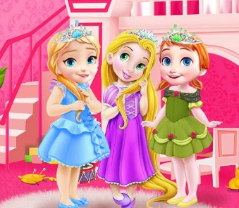 Baby Princesses Room Game