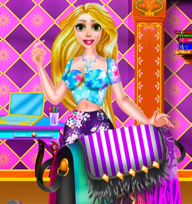 Rapunzel Diy Purse Decor Game
