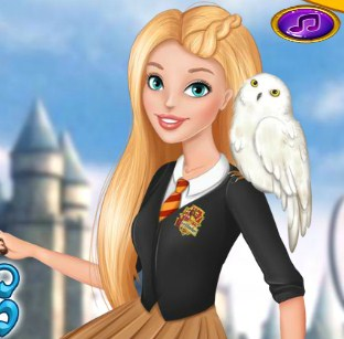 Barbie At Hogwarts Game