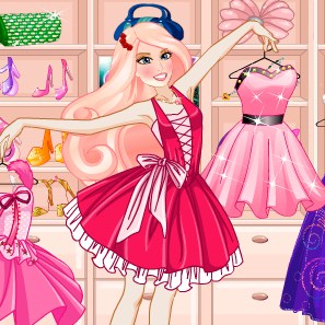Princess Barbie Dressing Room Game