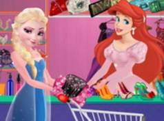 Ariel Fashion Dress Store Game