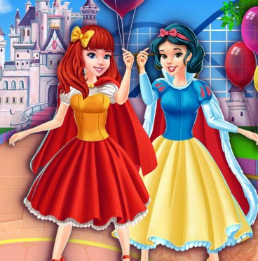 Princesses at Disneyland Game