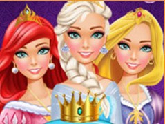 Disney Princess Makeover Salon Game