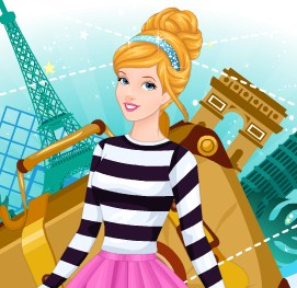 Cinderella Paris Trip Game