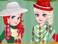 Princess Christmas Fashion Rivals Game
