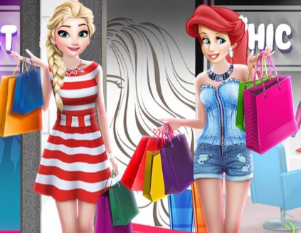 Shopping Mall Princess Game