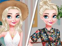 Elsa 4 Seasons Game